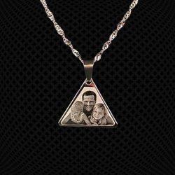Pendentif Triangle à graver