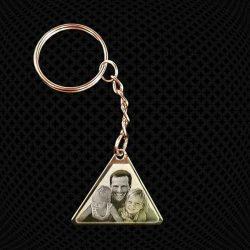 Porte-clés Triangle à graver