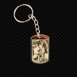 Porte-clés petite Plaque de l'armée