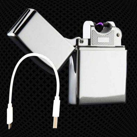Briquet-Zippo-Arc-Electrique-recharge-USB