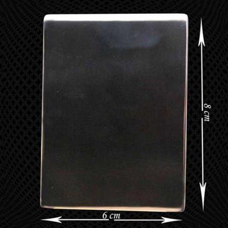 Grande plaque en acier pour cadre photo